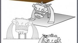 Windigo papercraft